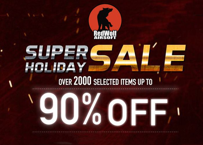 RedWolf Airsoft Super Holiday Sale Is On