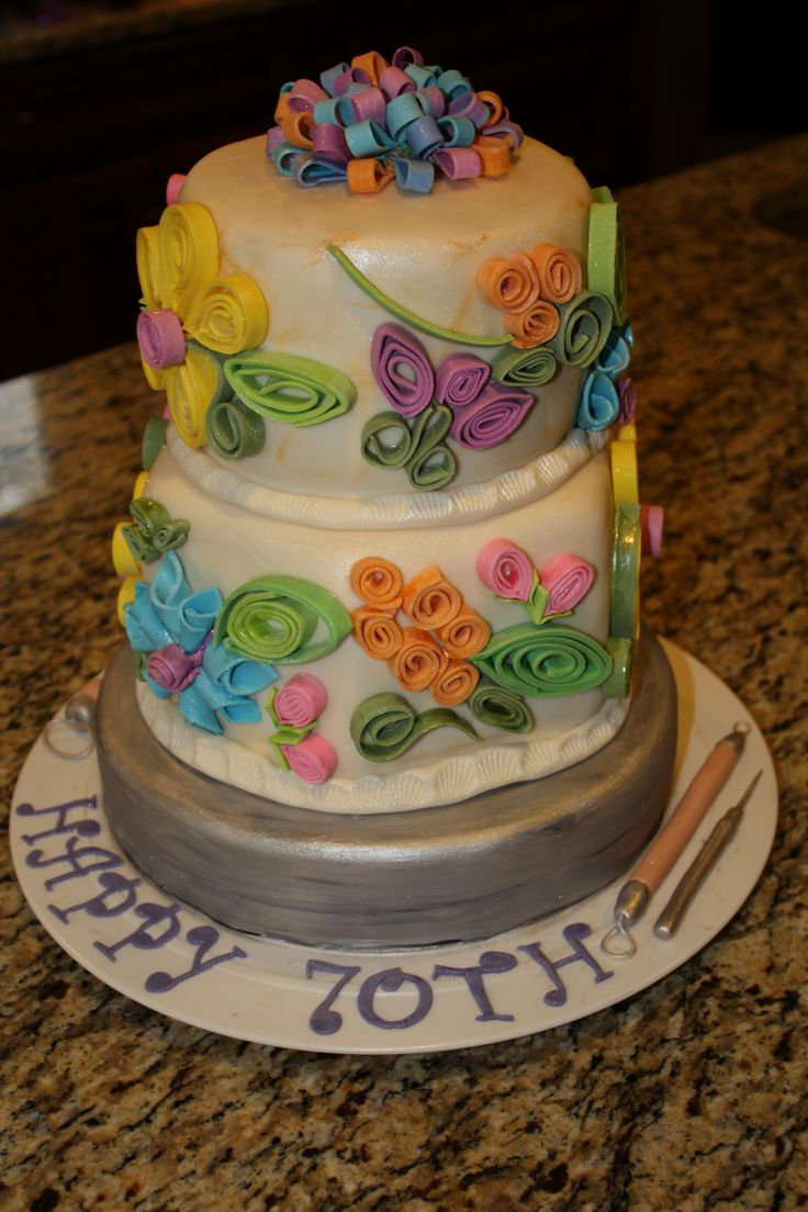 121 best images about Quilling cake on Pinterest