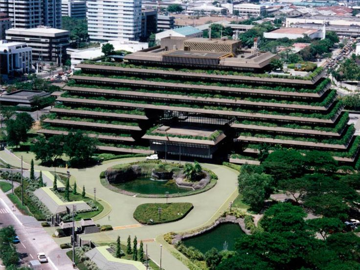 Building san miguel corporation headquarters mandaluyong for Filipino landscape architects