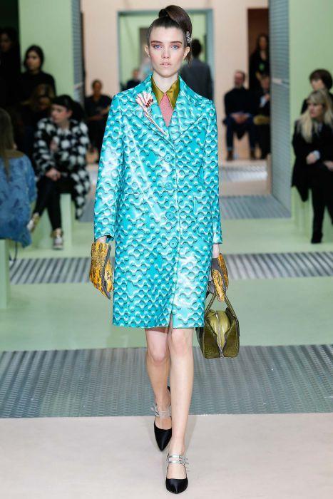 Pokaz Prada FW 2015/16 na Milan Fashion Week