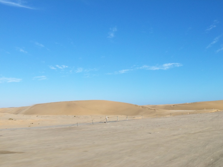 route to Walvis Bay