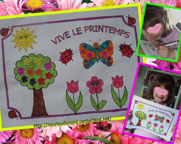 Häufig Les 52 meilleures images du tableau Printemps fleurs activités  XI06