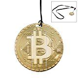 Bitcoin Flash Drive – 16GB USB 2.0 Memory Stick Thumb Drive (Gold)