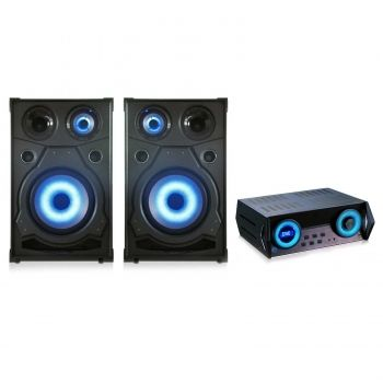 QUANTUM FX QFX High end Speakers With Amplifier with DVD, CD, USB, FM, HDMI