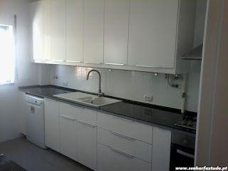 SENHOR FAZ TUDO - Faz tudo pelo seu lar !®: Montagem da cozinha Ikea no Estoril