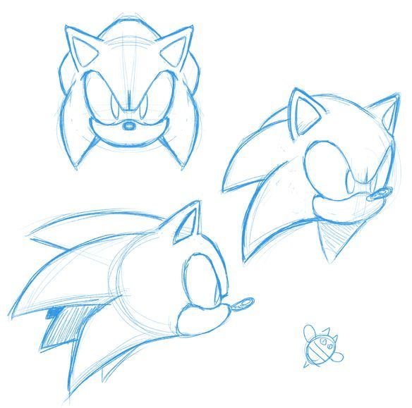 Sonic Face Practice By Catbeecache On Deviantart In 2020 Sonic Face Sonic How To Draw Sonic