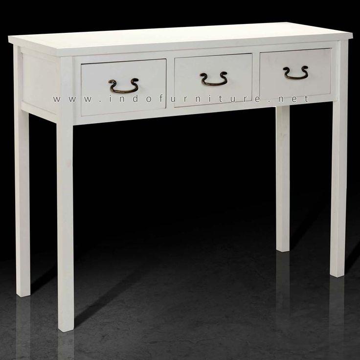 Meja Konsol Minimalis 3 Laci   Indo Furniture