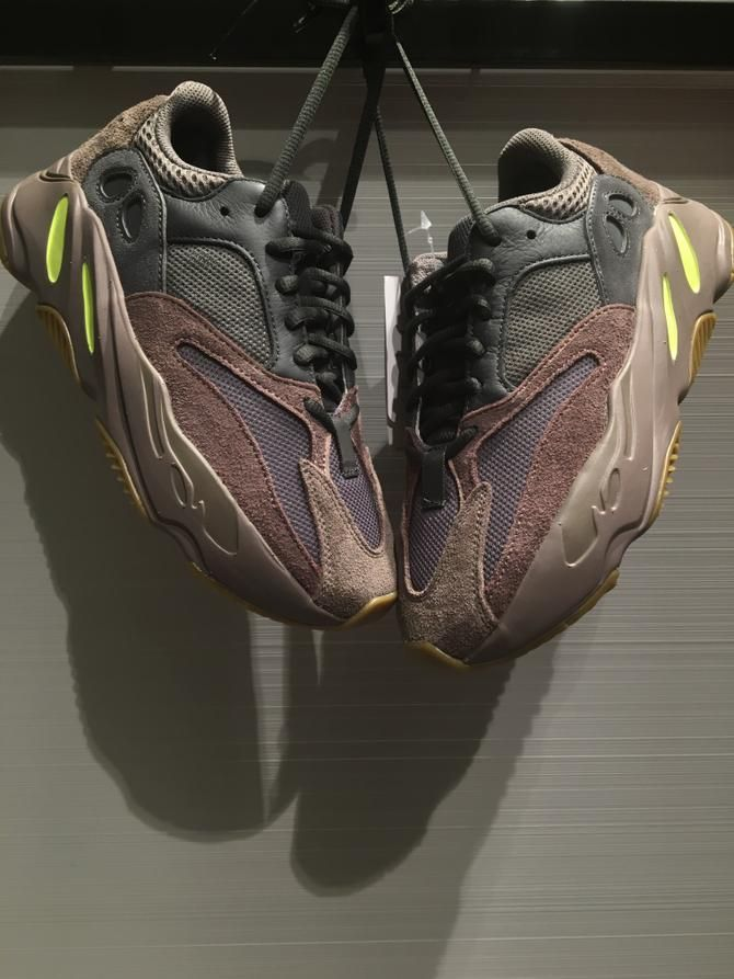 Womens size the best Adidas Yeezy Boost 700 Mauve UA sneakers in ... 9eaad64cea3a
