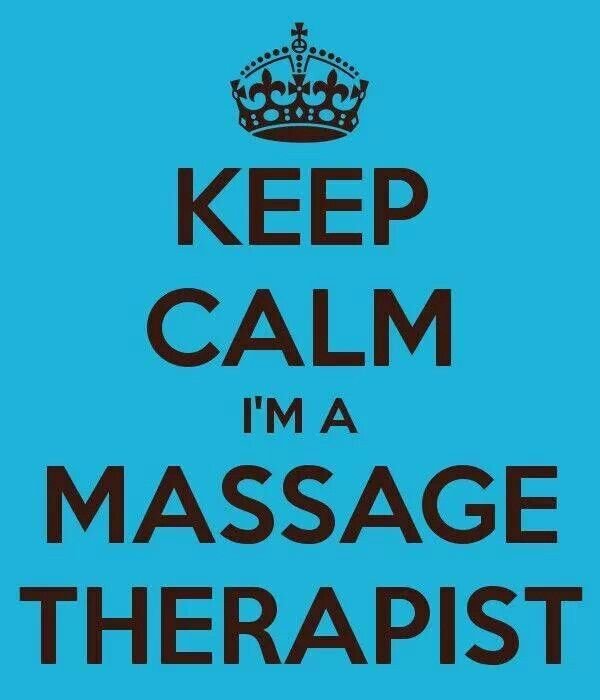 Lol.  Pretty sure the reason my husband married me is because I am a massage therapist.  :)