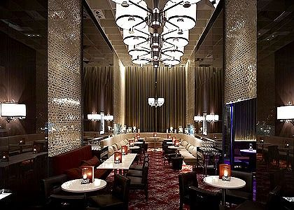 The Waiting Room, Neil Perry's seventh establishment in Australia, evokes a 1930s glam ambience - designed by Grant Cheyne, with 1:1 Architects.