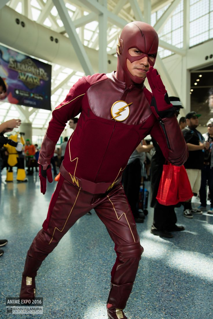 The Flash DC Comics #Cosplay | Anime Expo 2016