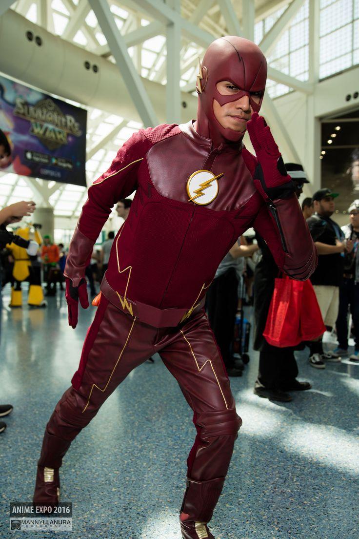 The Flash DC Comics #Cosplay | Anime Expo 2016