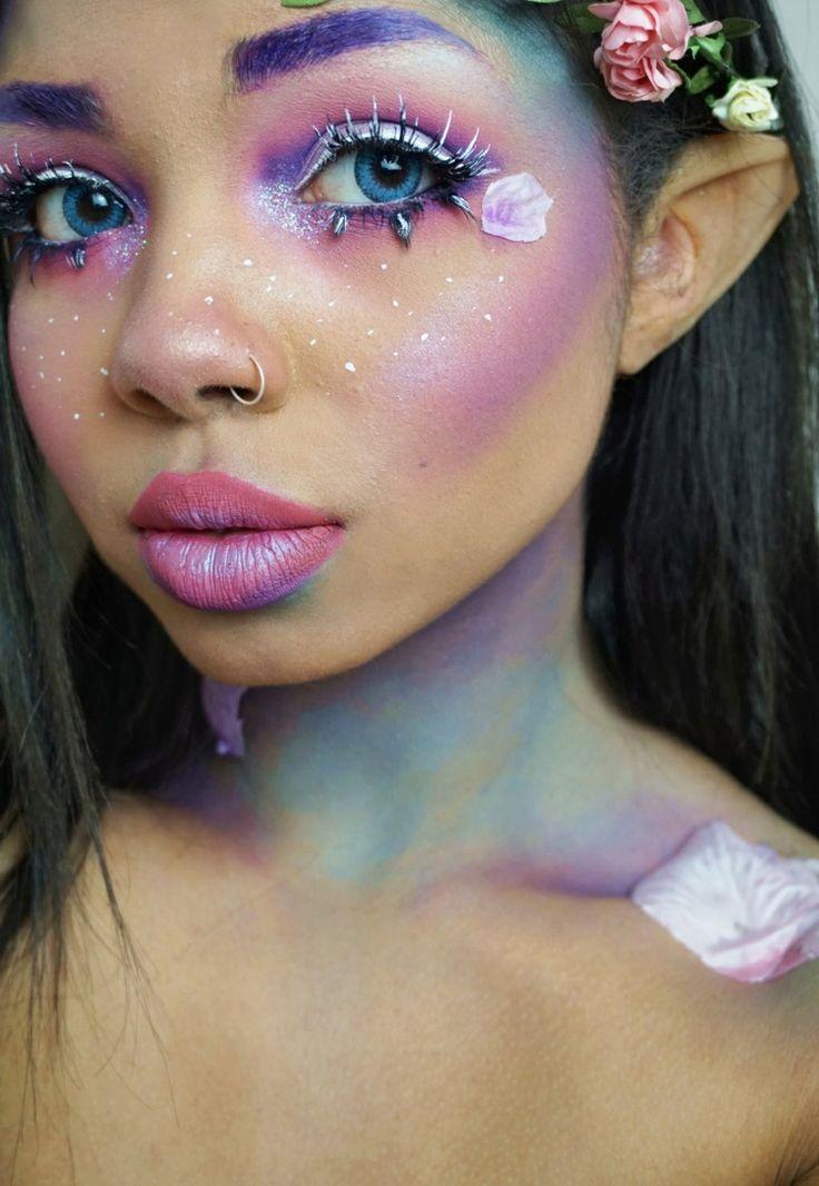 Karneval Make-up für Fee, Einhorn oder andere Märchenwesen