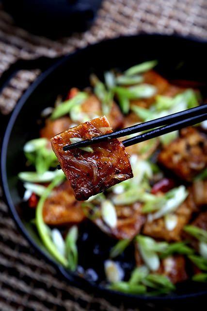 ... Vegan Recipes and Photography: Herbivoracious : Caramel-Cooked Tofu