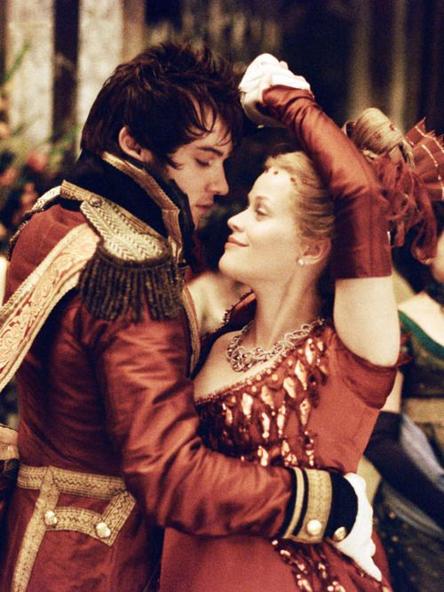 Vanity Fair (2004) Becky Sharp (Reese Witherspoon) and George Osborne (Jonathan Rhys Meyers).