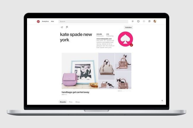 New Look for Pinterest Business Profiles