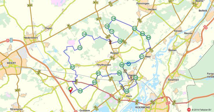 Fietsroute 151243: Fietsen door het Leudal (http://www.route.nl/fietsroutes/151243/Fietsen-door-het-Leudal/)