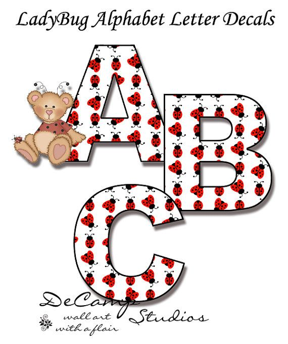 Wall Art Decals Letters : Best alphabet letter wall decals images on