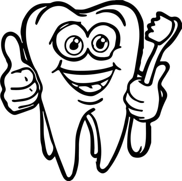 25 Inspiration Image Of Tooth Coloring Pages Coloring Pages