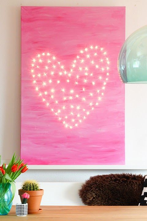 Heart of lights #diy