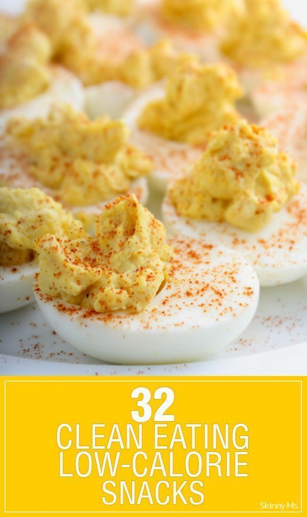32 Clean Eating Low Calorie Snacks #lowcaloriesnacks #cleaneating