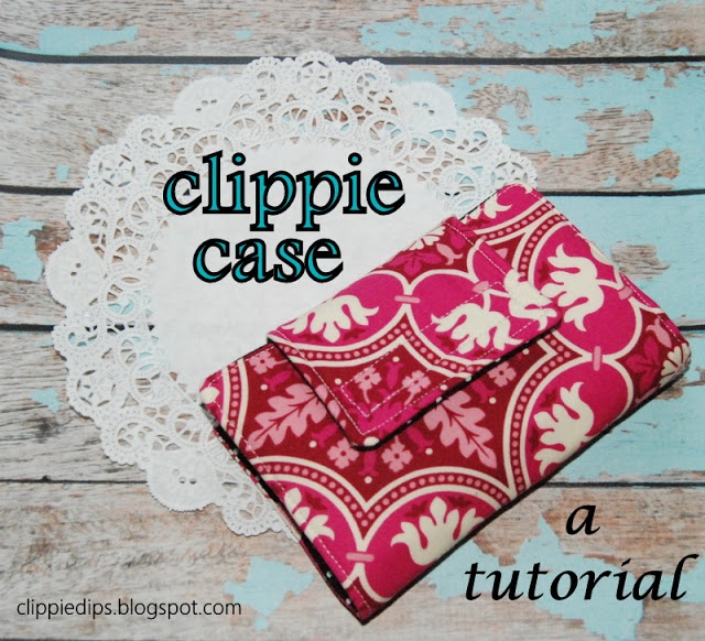 Clippie Dips: Hair Clippie Case Tutorial  Perfect for taking the clips on the road