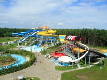 calypso water park - ottawa!  What a blast that day was with the family!