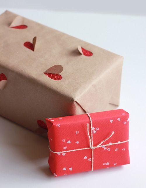 Paquet cadeau spécial St Valentin