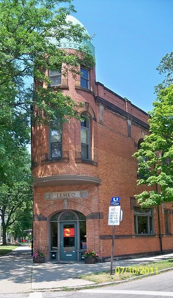 Tremont neighborhood of Cleveland, OH, home of great restaurants and art galleries.