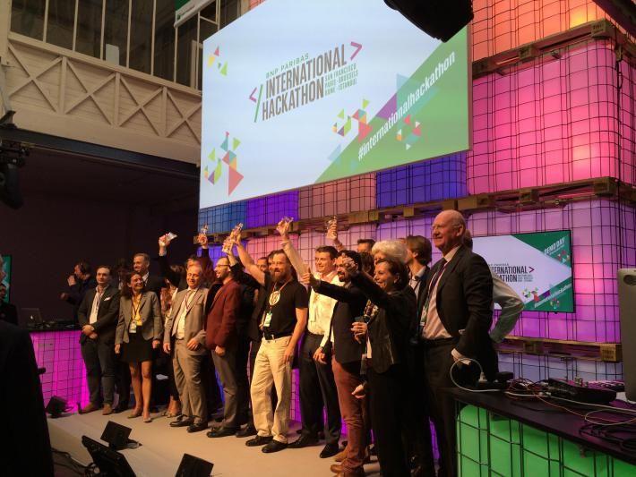 BNP Paribas International Hackathon : les vainqueurs | Banque BNP Paribas
