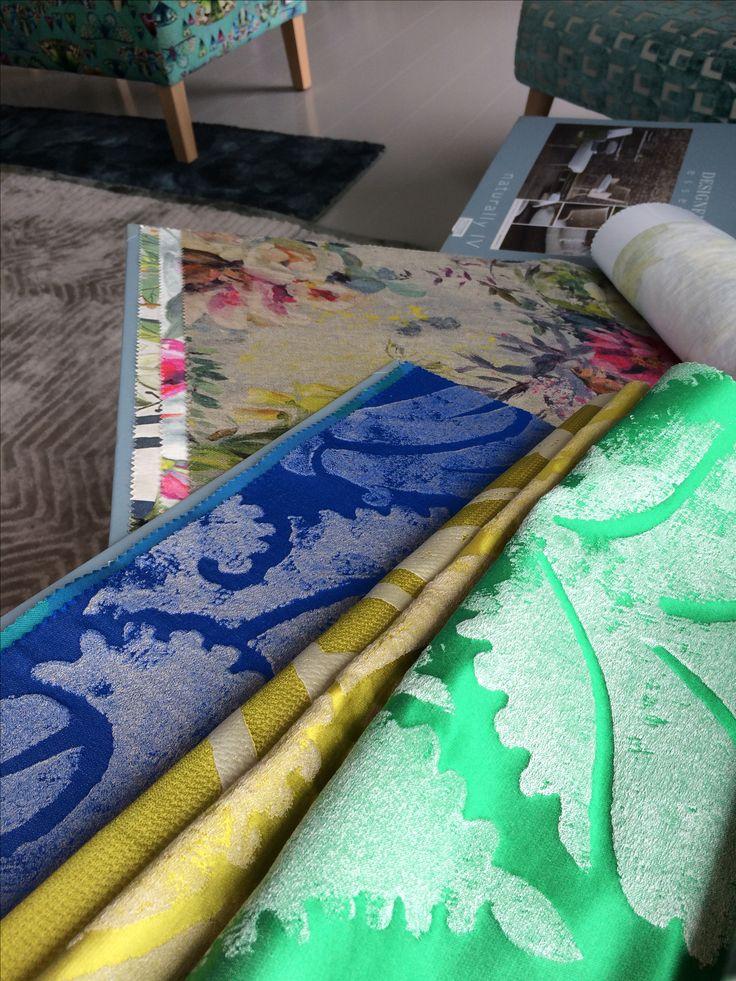Liftgardiner fra Designers Guild, Interiørdesign og fargekonsulent   Leverandør: www.hegew.no Kreativ Designer: Hege Wølner