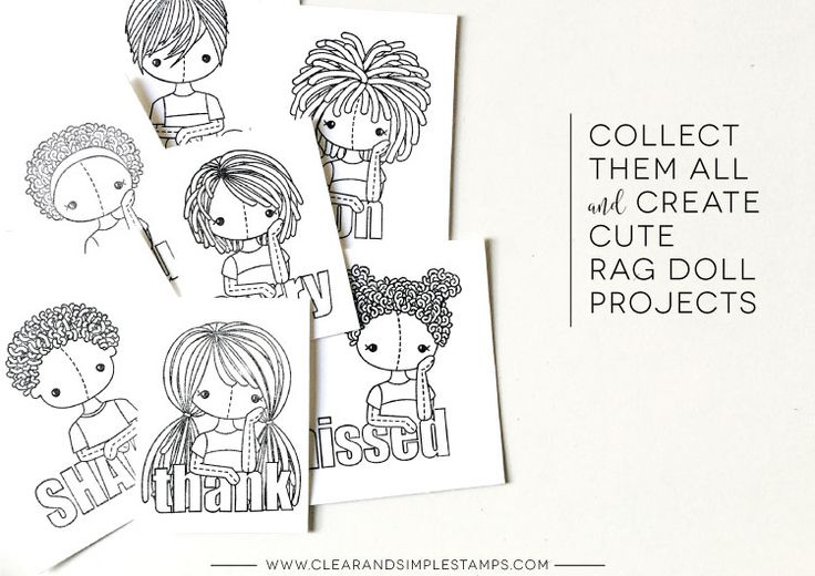 Rag Doll Banner Stationery
