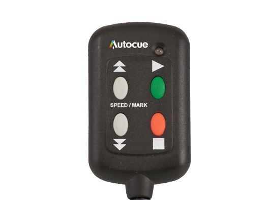 iPad Autocue & Teleprompter Hand Control - Teleprompter Accessories - Autocue & QTV Teleprompters UK