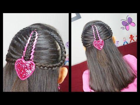 Trenza Sirena con Cinta - Mermaid Ribbon Braid | Trenza Diadema | Peinados para toda Ocasion - YouTube