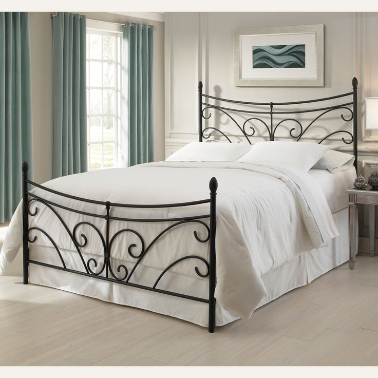 Best The 25 Best Black Iron Beds Ideas On Pinterest Black Bed Room Ideas Black Spare Bedroom 400 x 300