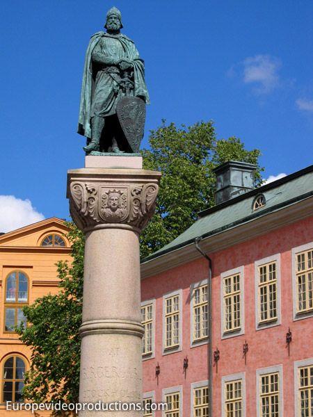 Riddarholmen dans la Vieille Ville de Stockholm (Gamla Stan) en Suède