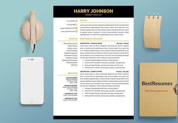 Modern Resume Template Simple Resume Template Classic Resume