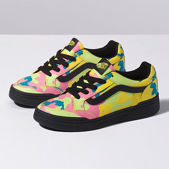 ca95b4673b2 Neon Camo Highland | KICKS | Shoes, Vans store, Camo