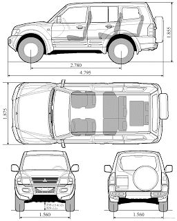 Manual Download: Mitsubishi Pajero Montero Factory Service