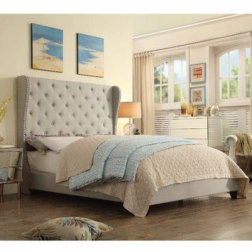 You'll love the Alexa Upholstered Platform Bed at Joss & Main - With Great Deals on all products and Free Shipping on most stuff, even the big stuff.