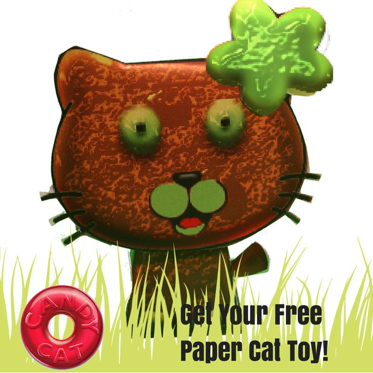 Get your FREE paper Candy Cat!  LIKE us here and send us a message! http://bit.ly/candycat