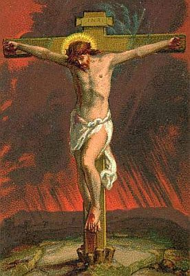 Picture of Jesus on the Cross courtesy of Wikipedia