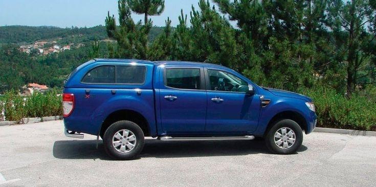 Hard Top Ford Ranger 2012-2017 ventanas correderas made in Totem