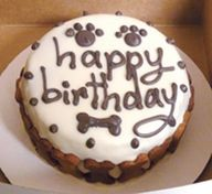 7 best Birthday cakes and treats for dogs images on Pinterest