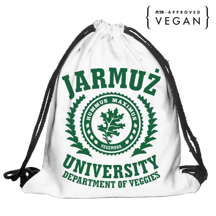 Plecak-worek Jarmuż University - Wegarnia