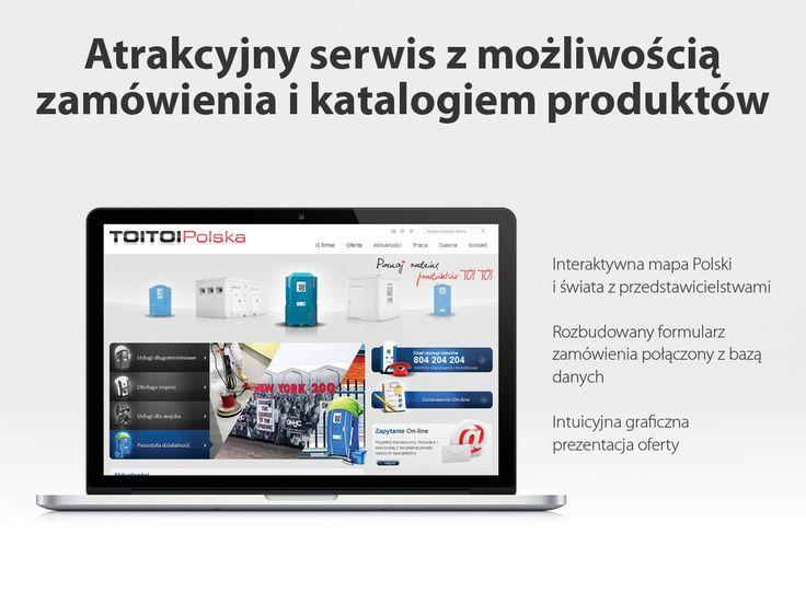 Toi Toi Polska. Atrakcyjny serwis z możliwością zamówienia i katalogiem produktów.
