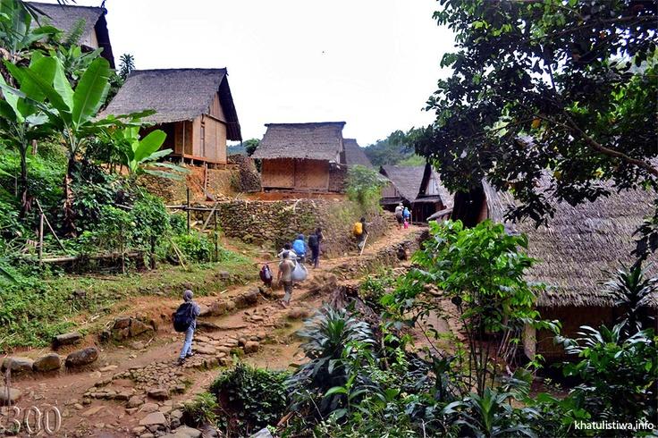 Perjalanan menuju Kampung Baduy Dalam