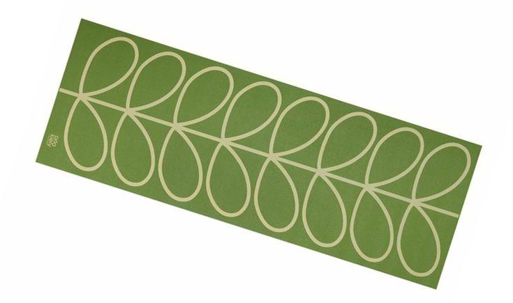 orla kiley for target green leaf print yoga mat