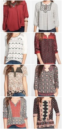 Lucky Brand tops. love this brand especially the tops I can't wait for their summer looks.