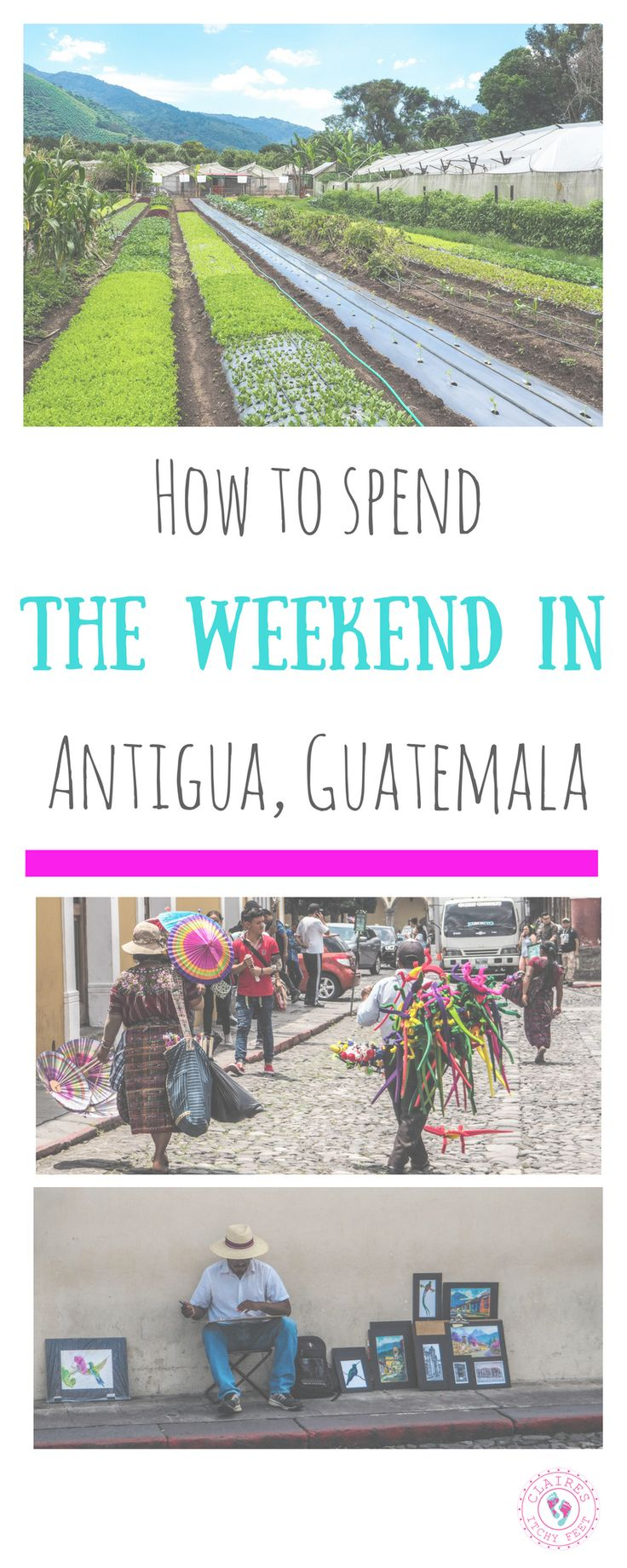 Planning a weekend trip to Antigua Guatemala? Weekends are the best time to explore Antigua as there is so much going on.